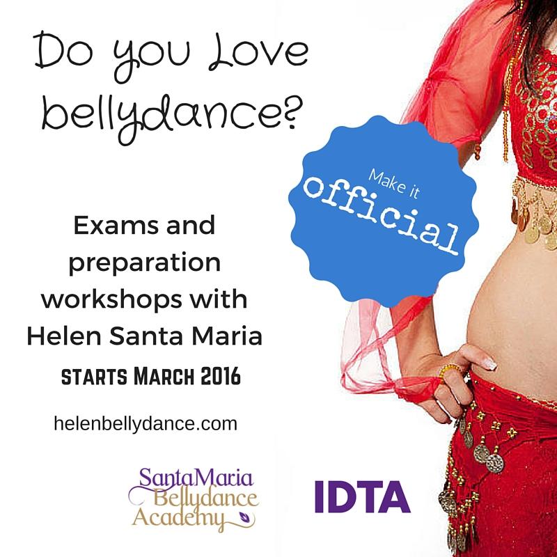 Bellydance exams