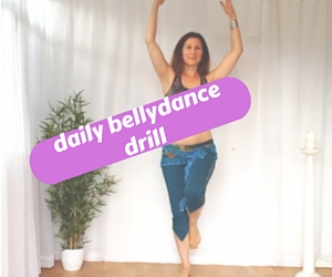 daily bellydance drill