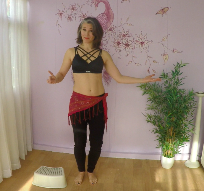 Belly dance abdominal technique